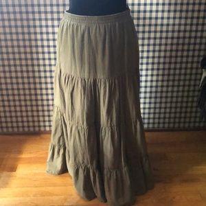 Derek heart long skirt